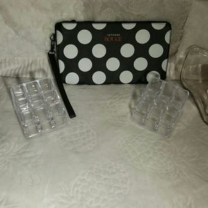 Cosmetic bag and lipstick case 💄💄💄